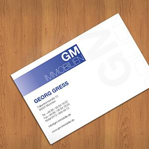Business cards unison software gm immobilien colourmoves